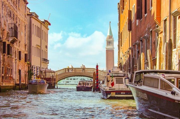 LA VILLE DU ROMANTISME… Venise!