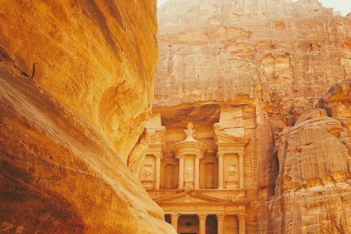 La Jordanie, le pays descouleurs…