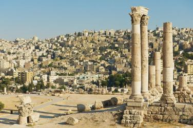 view-to-ancient-stone-columns-citadel-amman-amman-city-background-amman-jordan-56443887