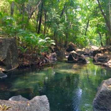 Rio Perdido - rivière d'eau chaude